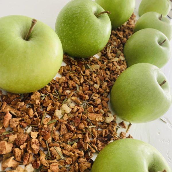 TEEPAUSE - BÜSUM -Apfel Joghurt-Limette